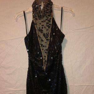 Ladies NITELINE party classy sequined Dress